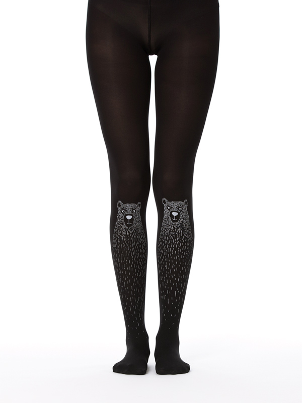Cute Bear Tights By Virivee