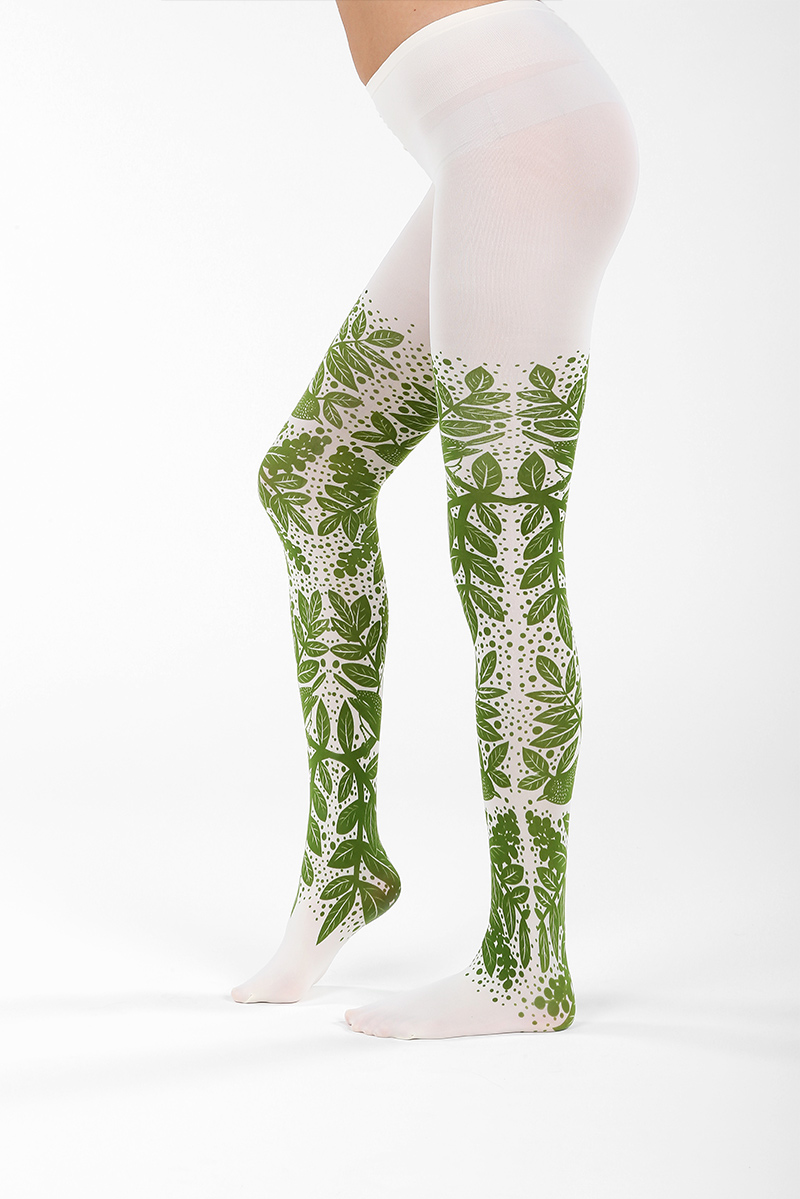 Green Forest Tights