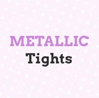Metallic tights by Virivee