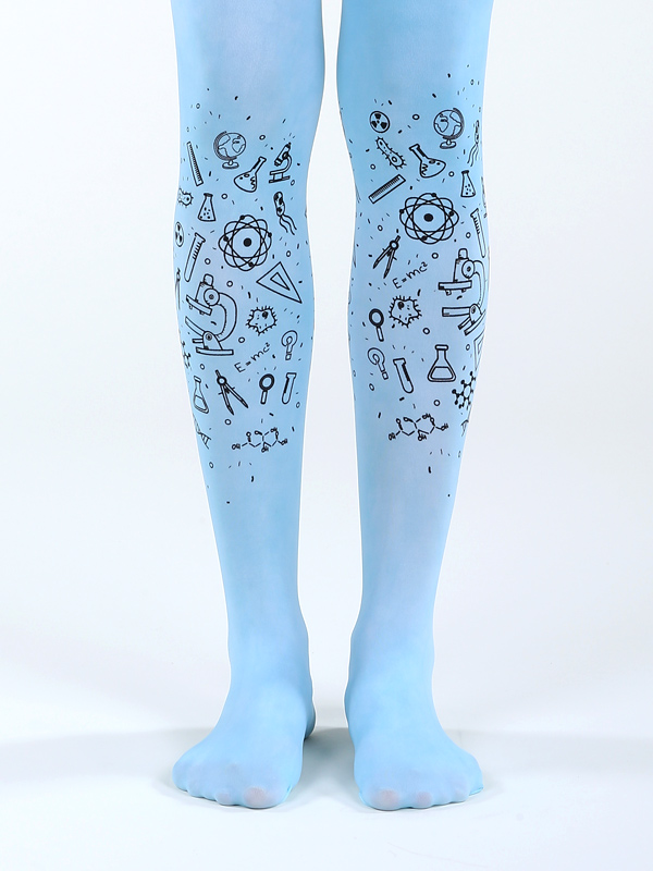 Blue Science Tights