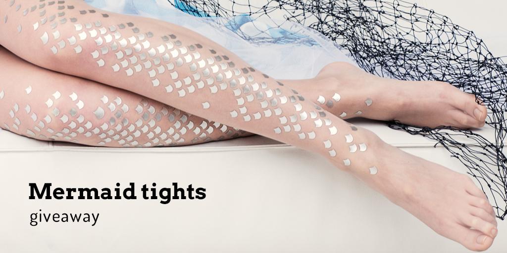 Mermaid tights giveaway