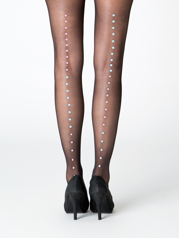 Milano black tights by Virivee