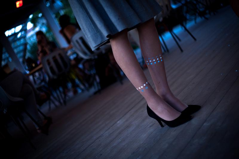 Leda reflective tights