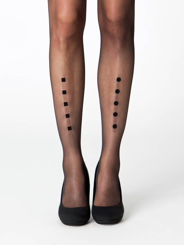 London tights by Virivee