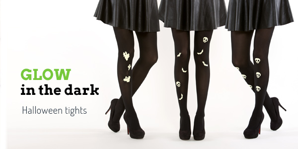 Buy Virivee Goth Halloween tights