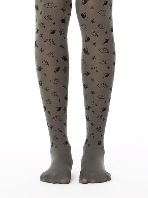 Grey birds tights