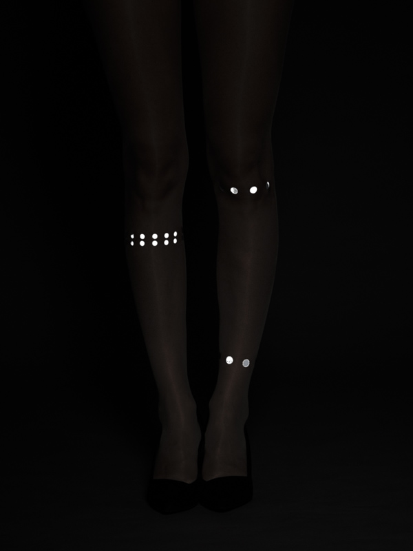 Callisto reflective tights by Virivee