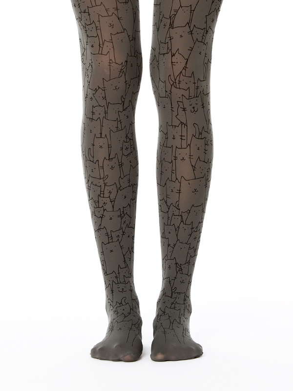 Clowder of cats tights
