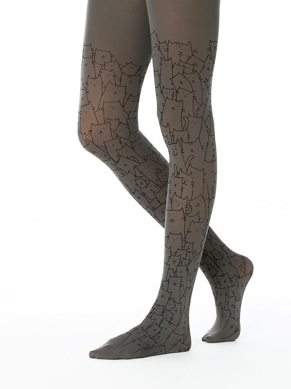 Clowder of cats tights