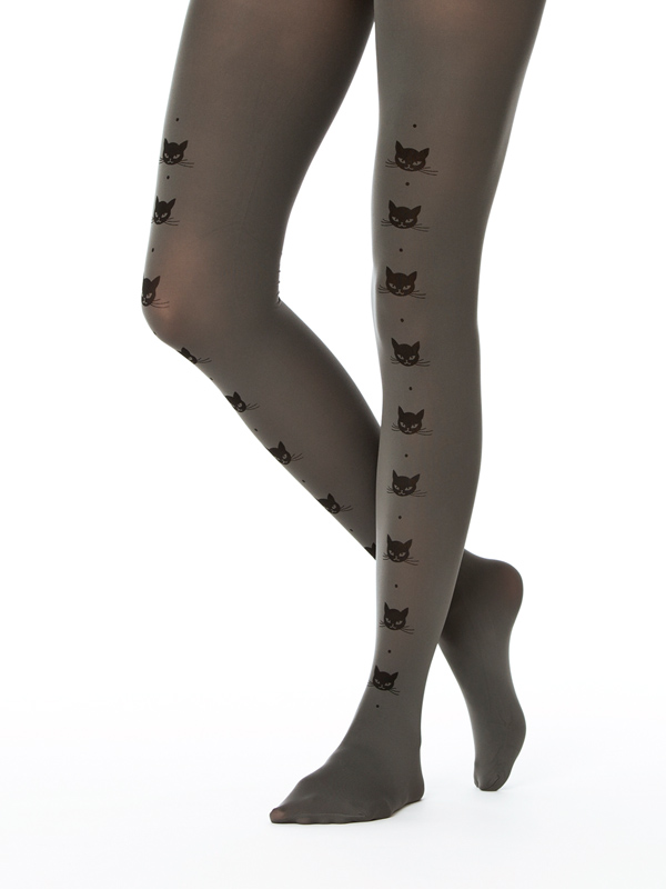 Cat Line Tights