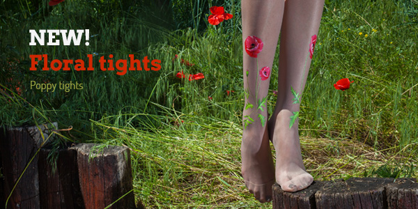 Poppy tights by Virivee