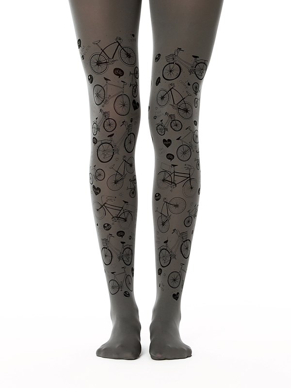 I Love Bikes tights