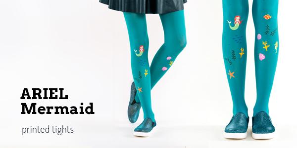 Ariel mermaid tights by Virivee