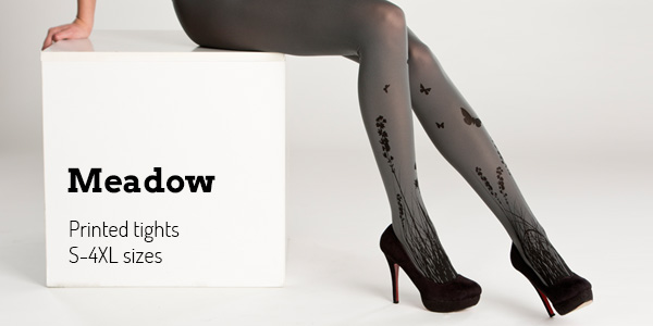 52d4f25899e Buy Virivee Meadow printed tights