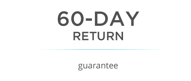 60-day return guarantee