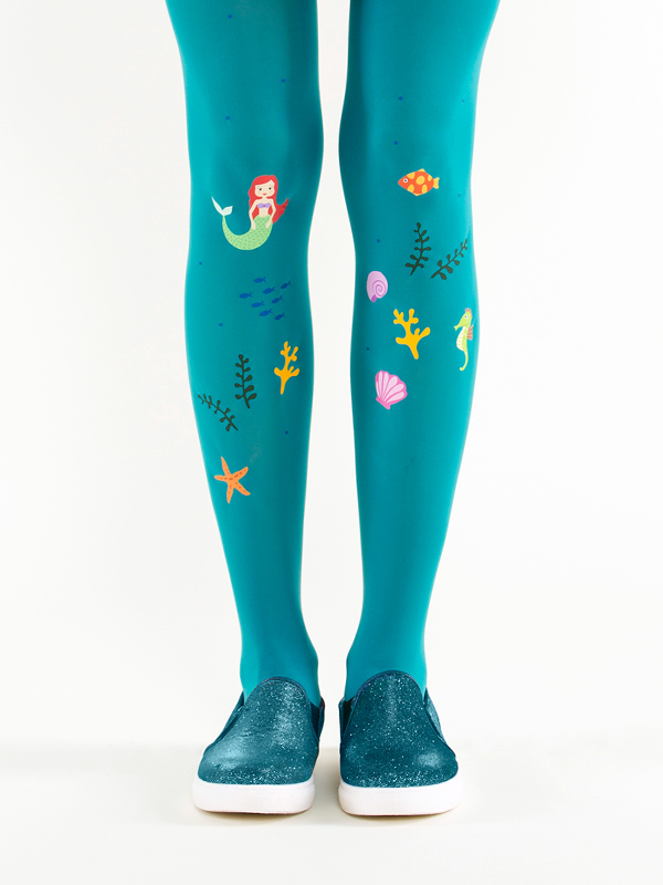 Ariel mermaid tights