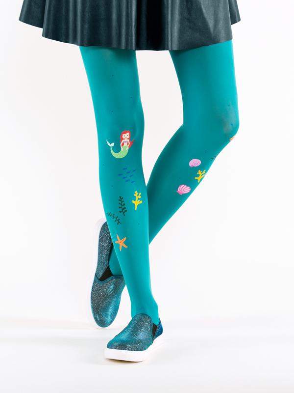 Ariel mermaid tights