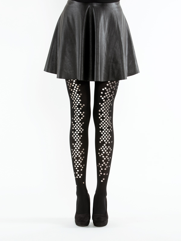 Black mermaid tights