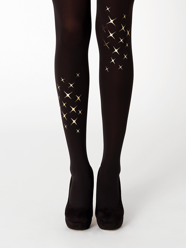 Shine Bright In Gold Tights