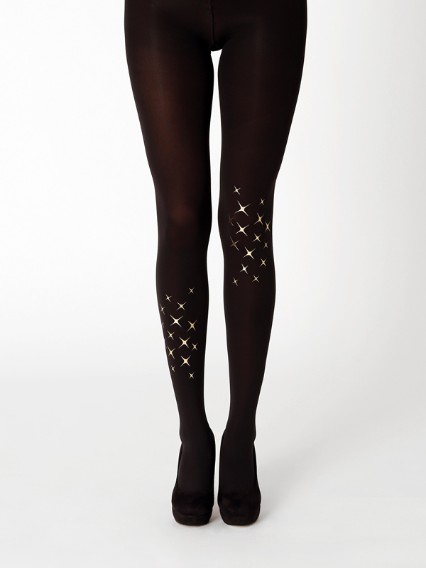 Shine Like A Star. Shine Bright In Gold Tights