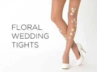 Virivee Floral and Wedding tights