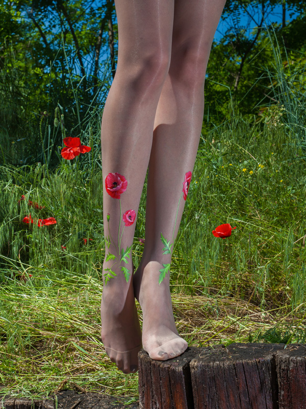 Poppy tights by Virivee