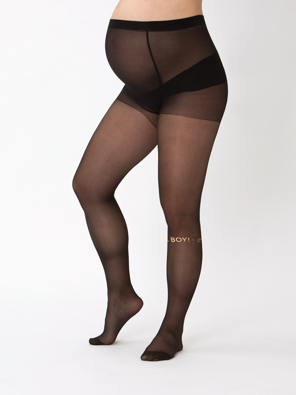 It's A Boy Maternity Tights