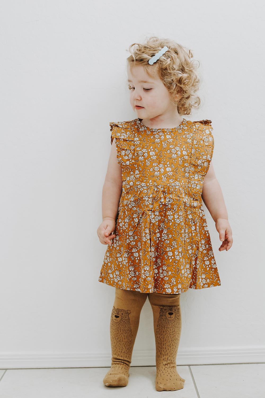 Brown bear tights by Virivee