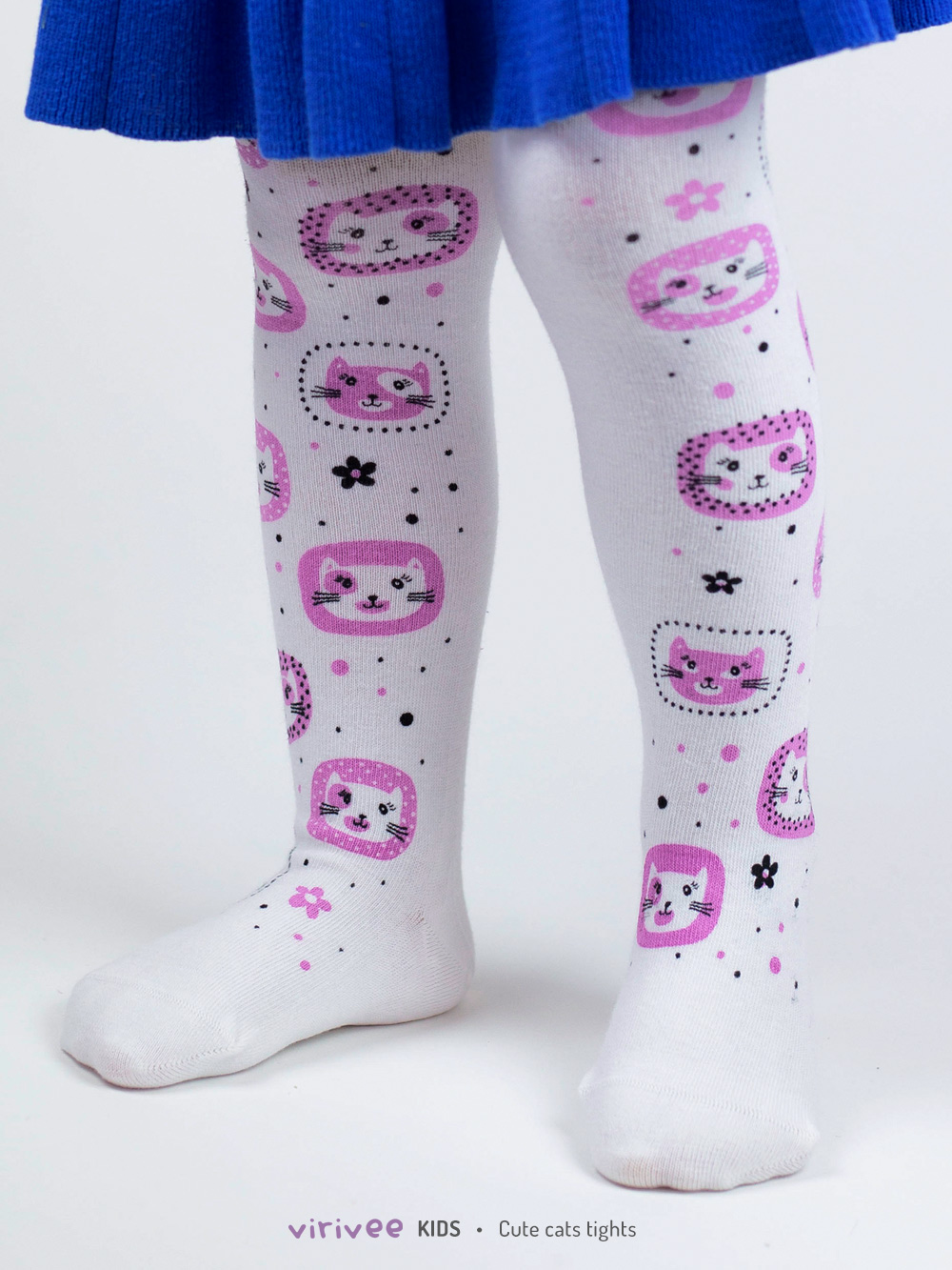 Kitties Tights For Girls