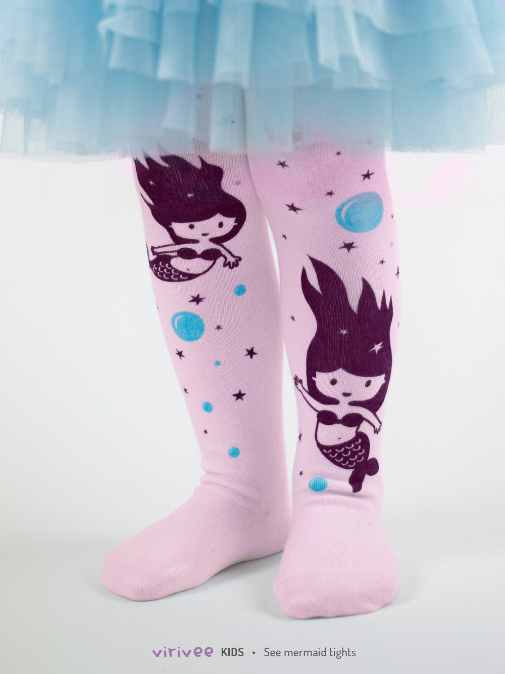 Sea Mermaid Tights In Pink