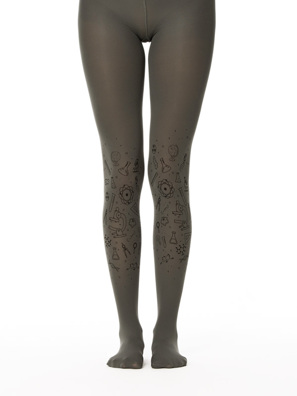 Grey Science Tights